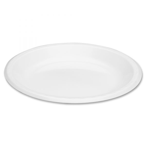 "Genpak Elite 10.25"" Laminated Foam Plates"