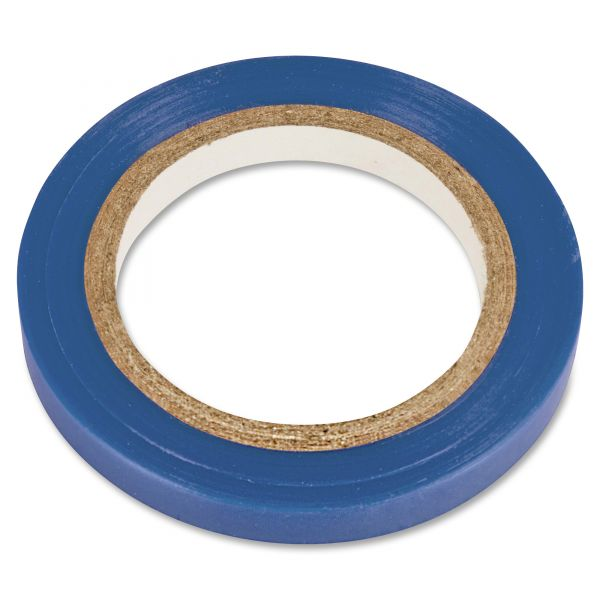 "COSCO Art Tape, Blue Gloss, 1/4"" x 324"""