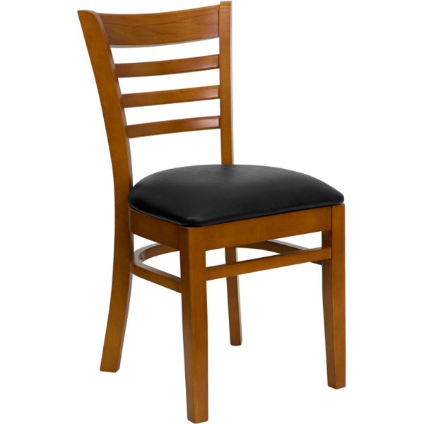 Flash Furniture Ladder Back Wooden Restaurant Chair