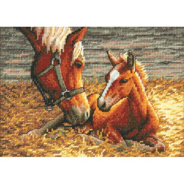 Dimensions Gold Petite Good Morning Counted Cross Stitch Kit