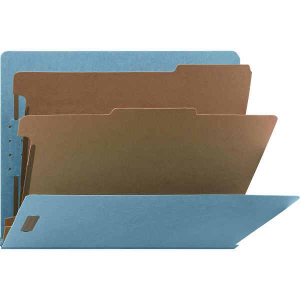 Nature Saver 2-Divider End Tab Classification Folders