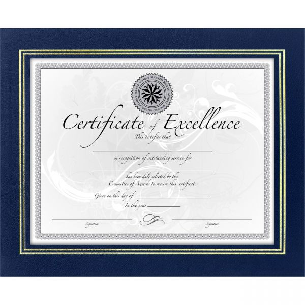 DAX Leatherette Picture/Certificate Frame