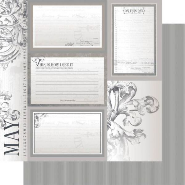 Year In Review Double-Sided Cardstock