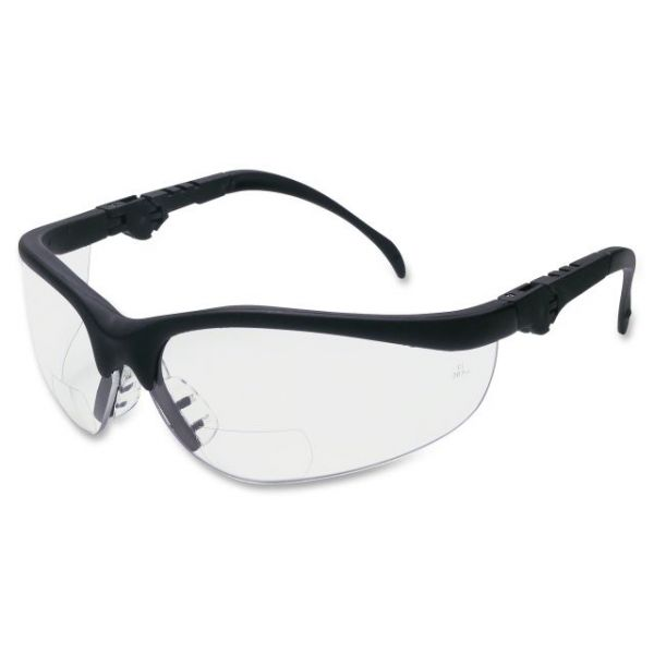 Crews Klondike Plus Magnifier Safety Glasses