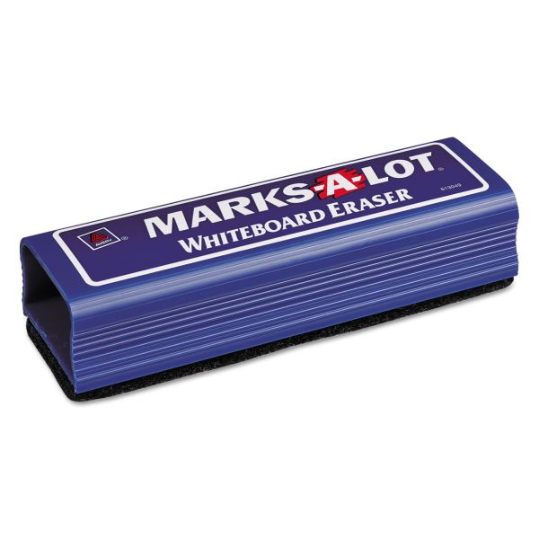 Avery MARK A LOT Dry Erase Eraser, Felt, 6 1/4w x 1 7/8d x 1 1/4h