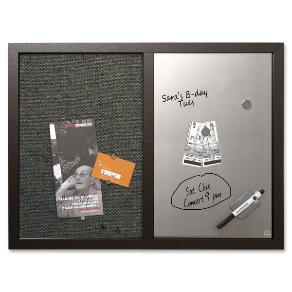 MasterVision Combo Bulletin/Dry Erase Board