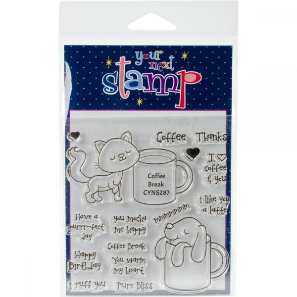 "Your Next Stamp Clear Stamps 4""X4"""