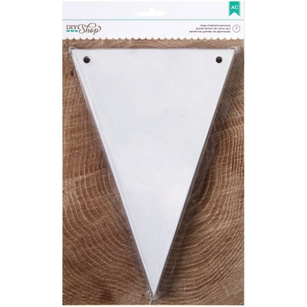 DIY Shop Chipboard Banner 7/Pkg