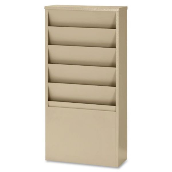 Buddy 5-Pocket Literature Display Racks
