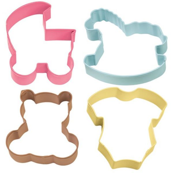 Metal Cookie Cutter Set 4/Pkg