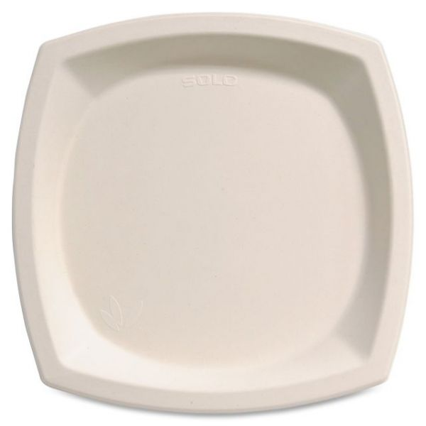 "Solo Bare 10"" Bagasse Plates"