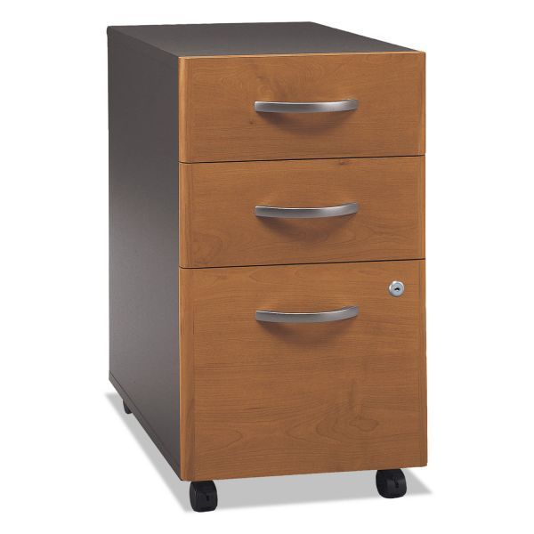 bbf Series C Three-Drawer Pedestal by Bush Furniture