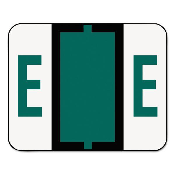 Smead BCCR Bar-Style Color-Coded Alphabetic Label - E