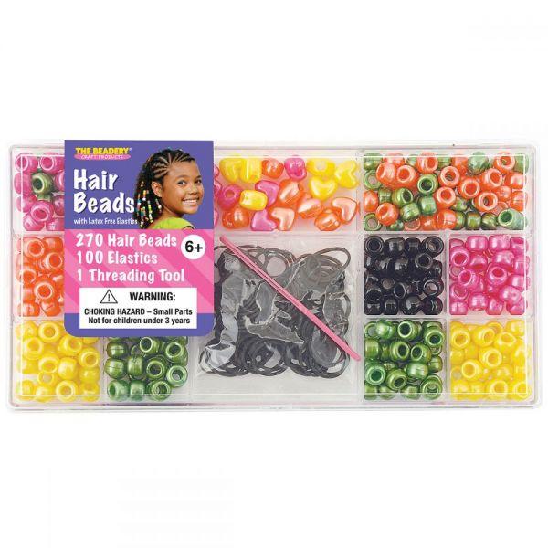 Large Hair Bead Box Kit