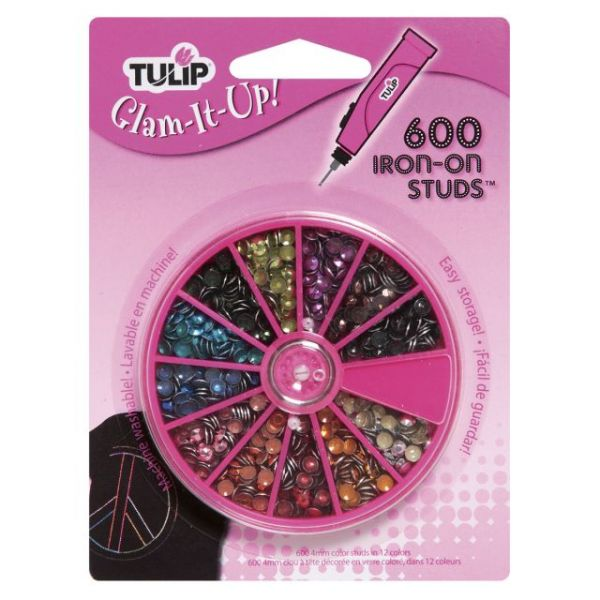 Tulip Glam-It-Up! Iron-On Studs 600/Pkg