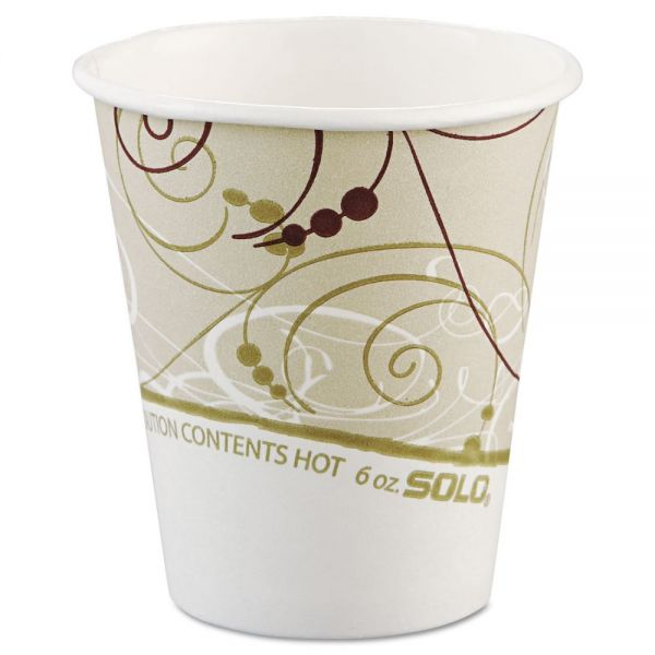 SOLO 6 oz Paper Coffee Cups