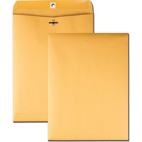 "Quality Park Gummed 9"" x 12"" Clasp Envelopes"
