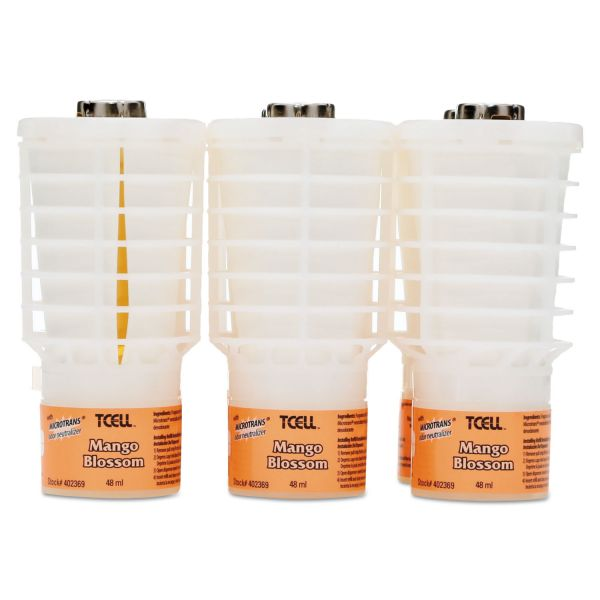 Rubbermaid Commercial TCell Microtrans Air Freshener Refills