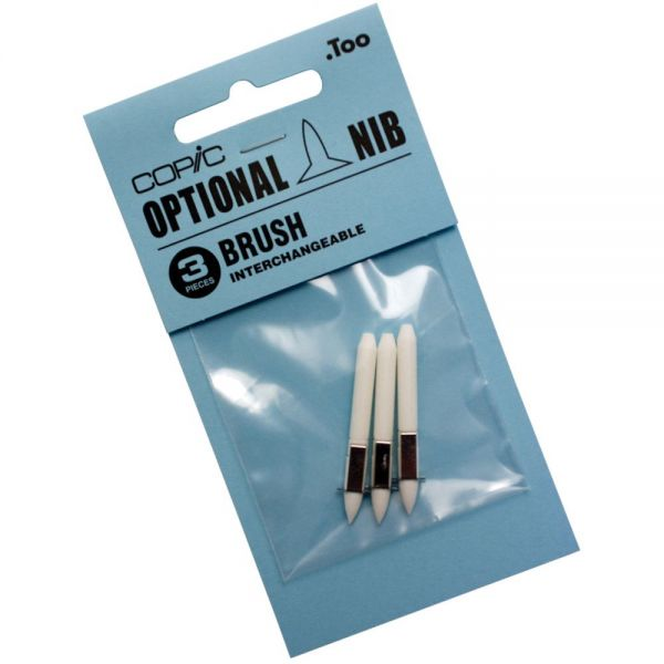 Copic Interchangeable Replacement Brush Nibs