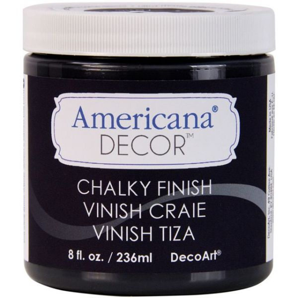 Deco Art Carbon Americana Decor Chalky Finish Paint