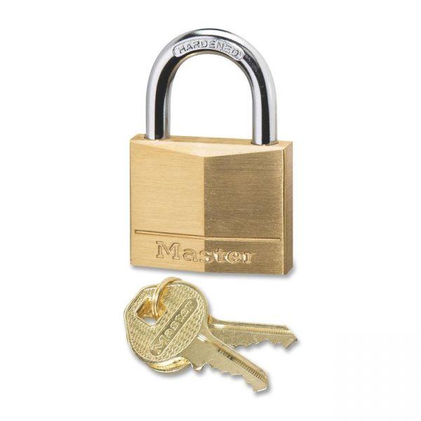 Master Lock Four-Pin Keyed Padlock