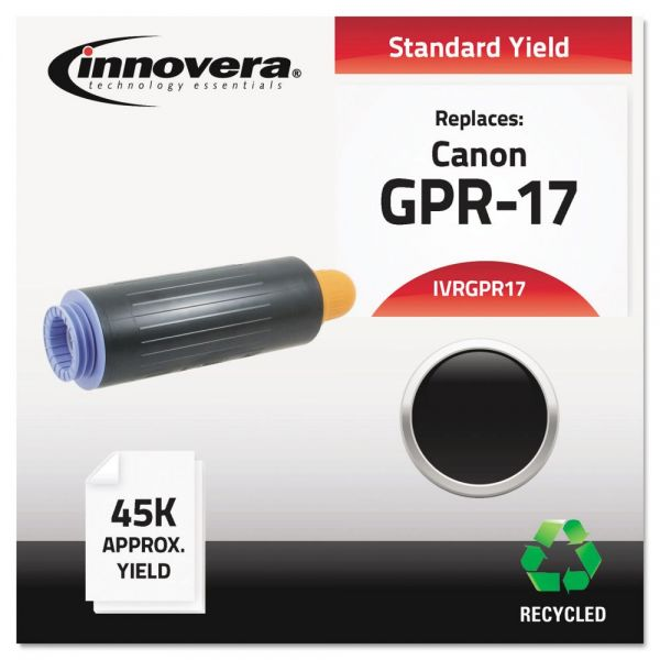 Innovera Remanufactured 0279B003AA (GPR-17) High-Yield Toner, Black