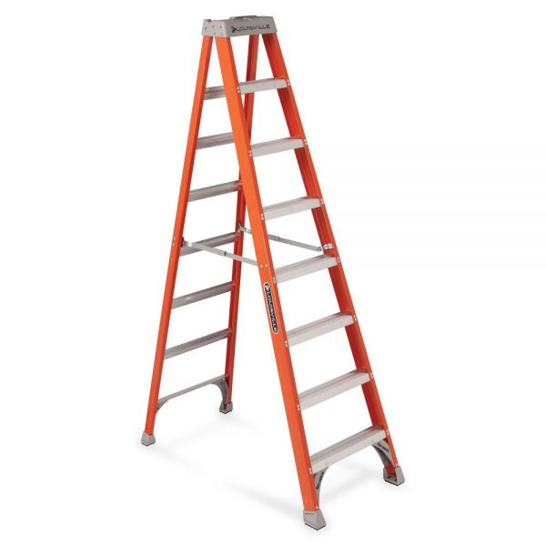Louisville Davidson Ladders 8' Fiberglass IA Step Ladder