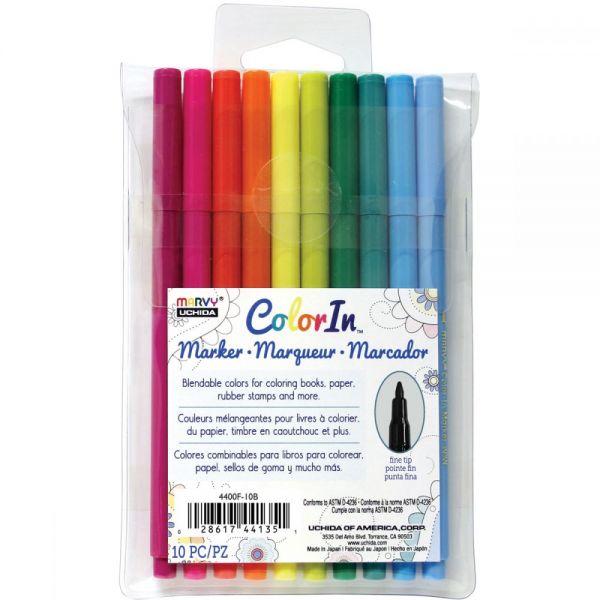 Marvy ColorIn Markers