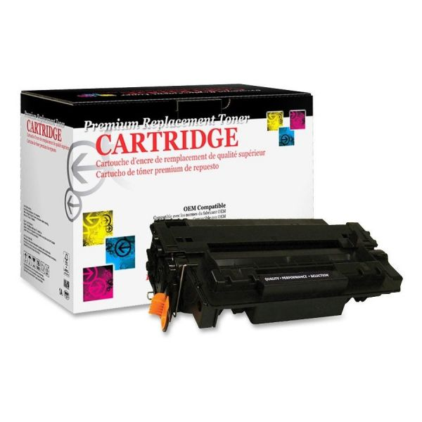 West Point Products Remanufactured HP Q6511A Black Toner Cartridge