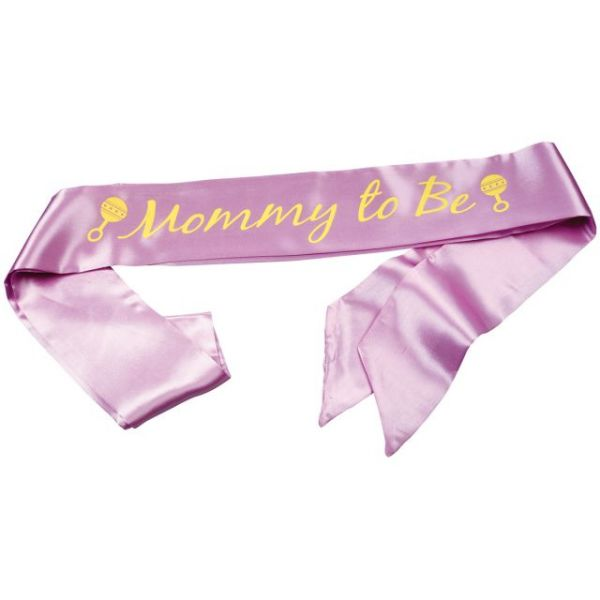 Mom-To-Be Sash 1/Pkg