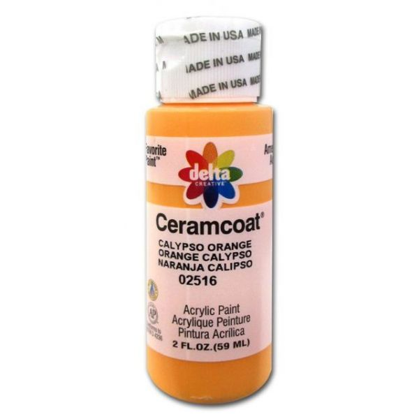Ceramcoat Calypso Orange Acrylic Paint