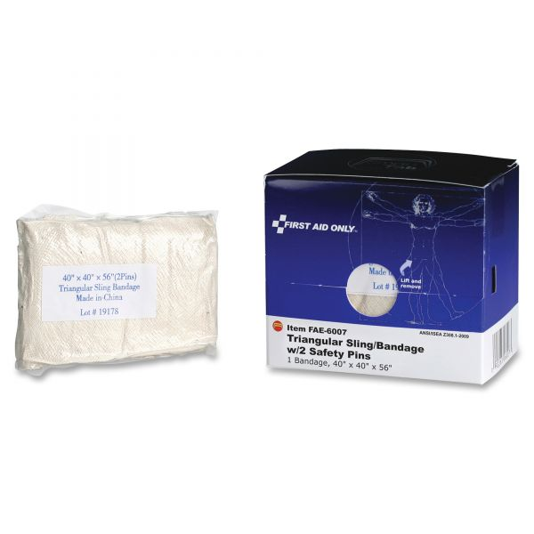 First Aid Only Triangular Sling Bandage