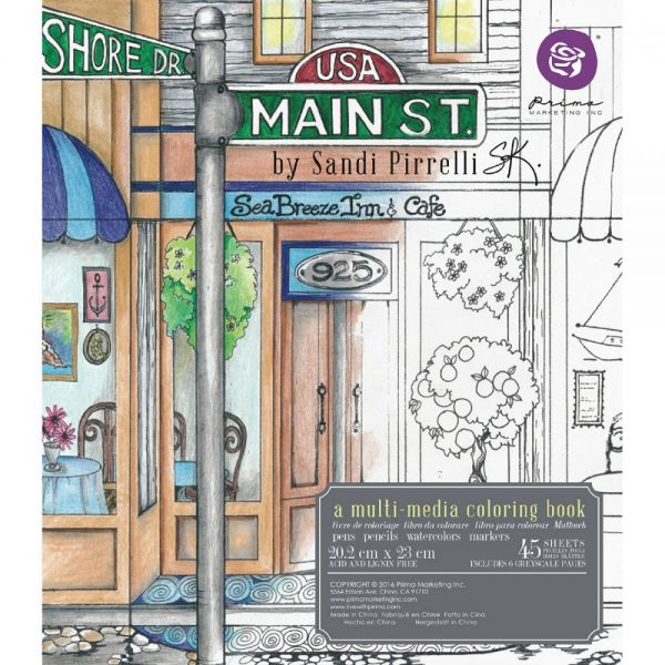 Prima Marketing Coloring Book