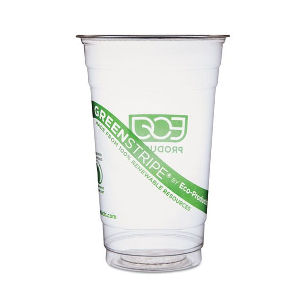 Eco-Products GreenStripe 20 oz Plastic Cups