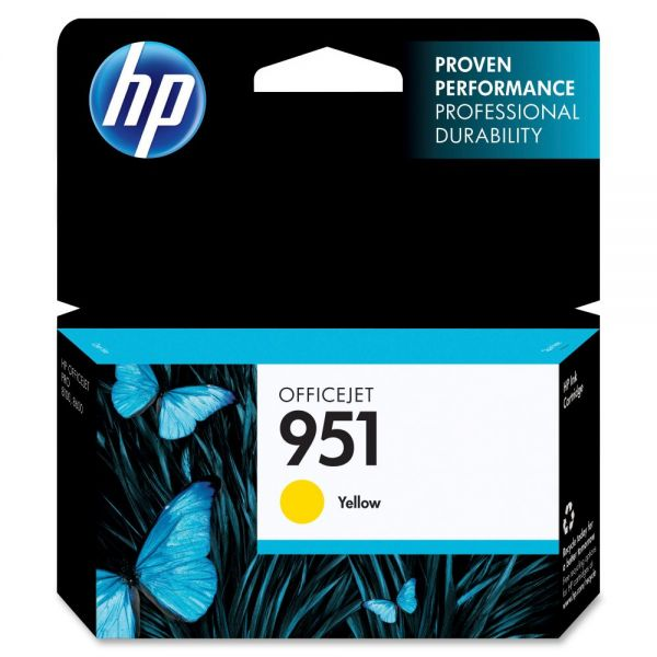 HP 951 Yellow Ink Cartridge (CN052AN)