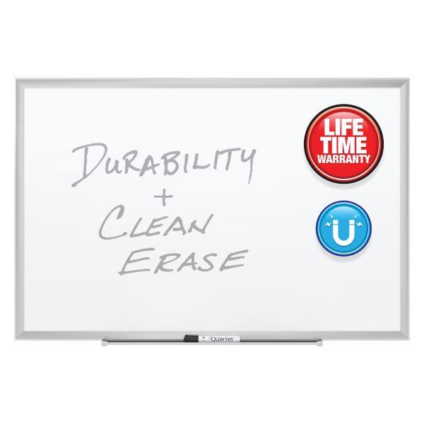 "Quartet 72"" x 48"" Premium DuraMax Magnetic Porcelain Dry Erase Whiteboard"
