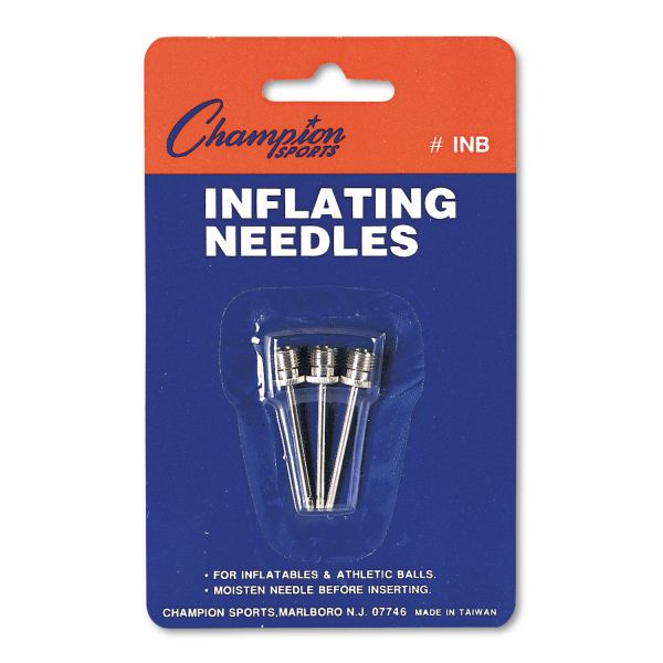 Champion Sports Inflating Needles for Electric Inflating Pump