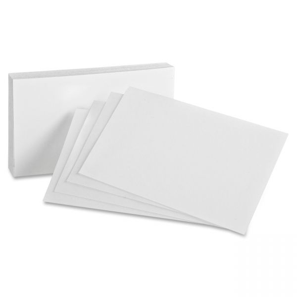 "Oxford 4"" x 6"" Blank Index Cards"