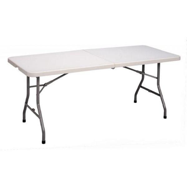 Correll Blow-Molded Fold-In-Half Folding Table