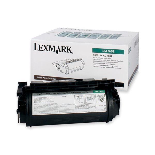 Lexmark 12A7462 Black High Yield Return Program Toner Cartridge