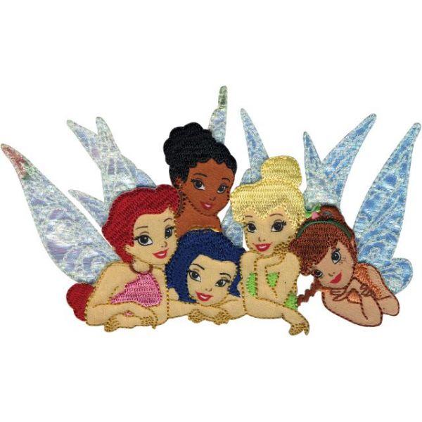 Disney Fairies Iron-On Applique