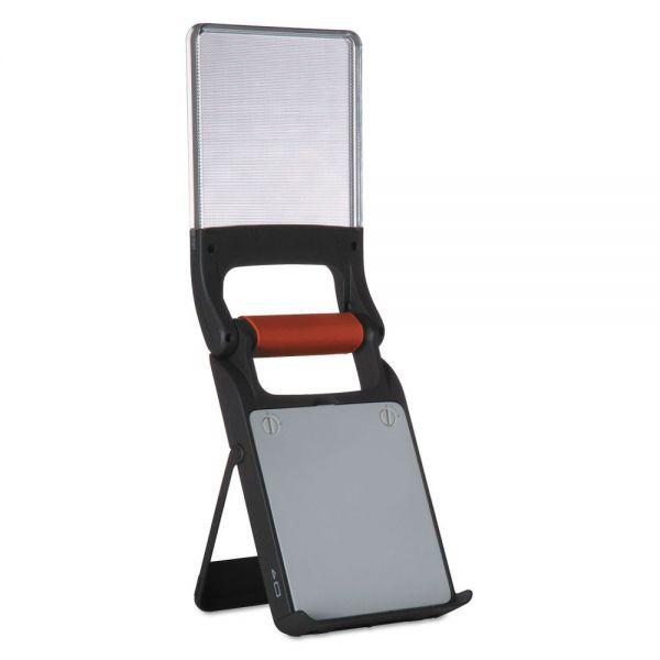 Energizer Fusion Folding Lantern, LED, Black/Silver/Orange, 4 or 8 AA Batteries
