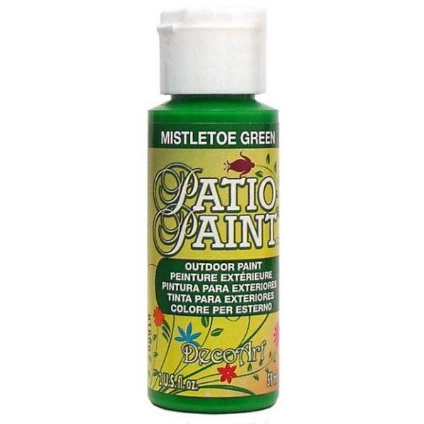 Deco Art Mistletoe Green Patio Paint
