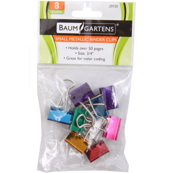 Baumgartens Small Binder Clips