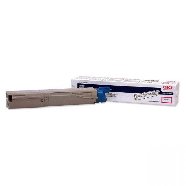 Oki 43459302 Magenta Toner Cartridge