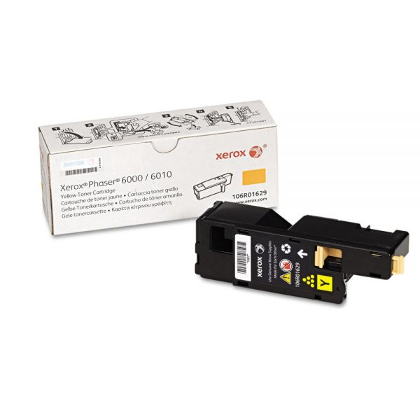 Xerox 106R01629 Yellow Toner Cartridge