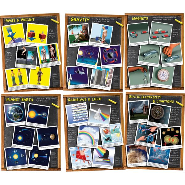 Carson-Dellosa Middle Grades Science Chartlet Set