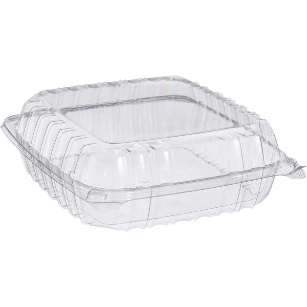 Dart ClearSeal Takeout Plastic Clamshell Food Containers