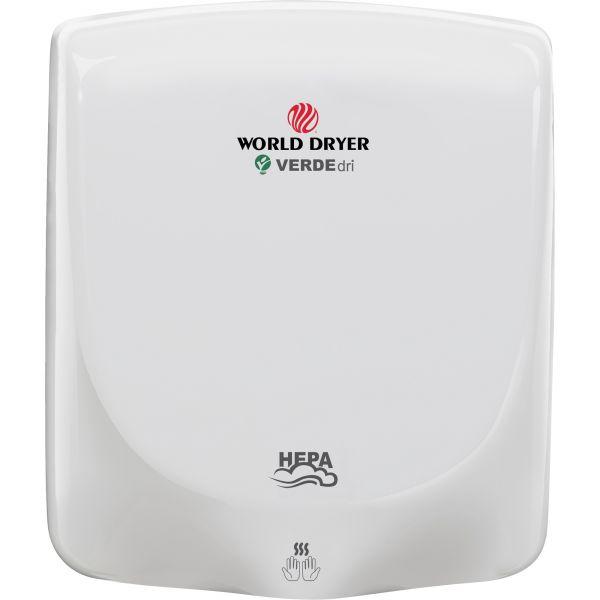 WORLD DRYER VERDEdri Hand Dryer
