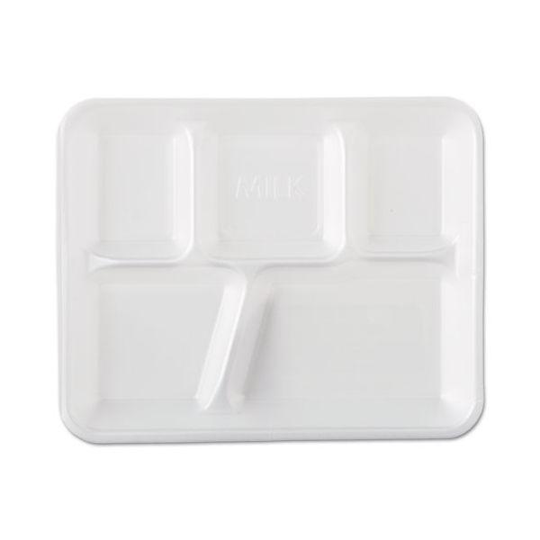 Genpak Foam Compartment Trays